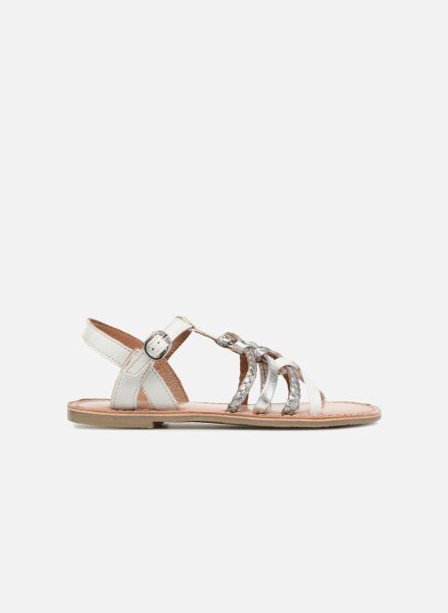 Sandales et nu-pieds I Love Shoes Keliana Leather Blanc vue derrière
