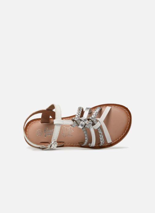 Sandales et nu-pieds I Love Shoes Keliana Leather Blanc vue gauche