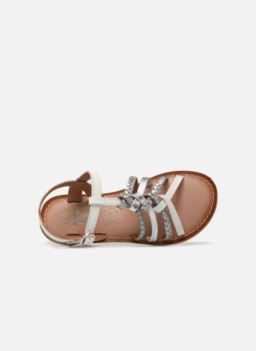 Sandales et nu-pieds I Love Shoes Keliana Leather Blanc vue gauche
