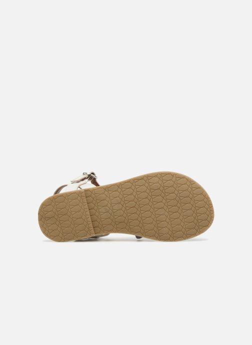 Sandales et nu-pieds I Love Shoes Keliana Leather Blanc vue haut
