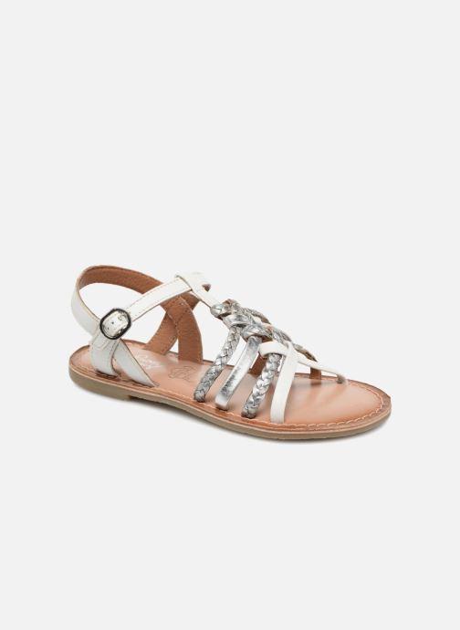 Sandales et nu-pieds I Love Shoes Keliana Leather Blanc vue détail/paire