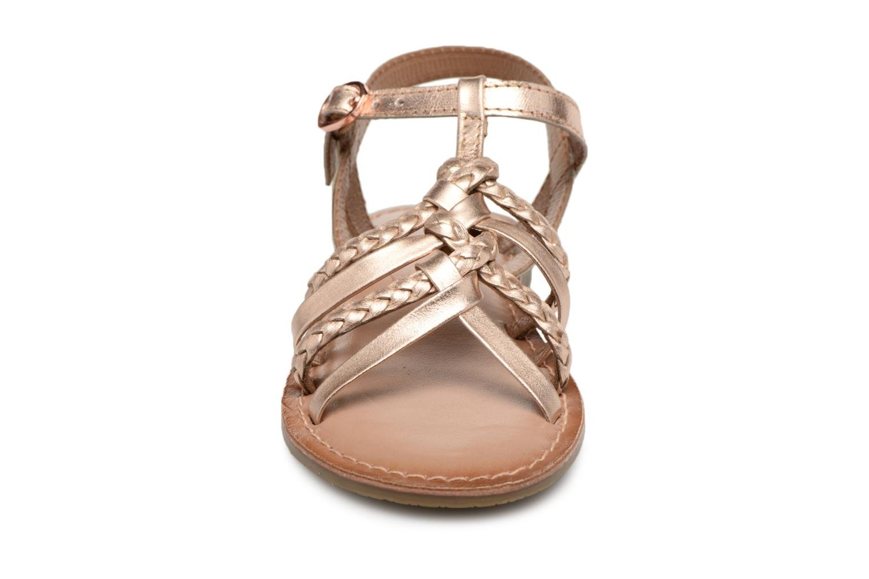 Sandaler I Love Shoes Keliana Leather Bronze och Guld bild av skorna på