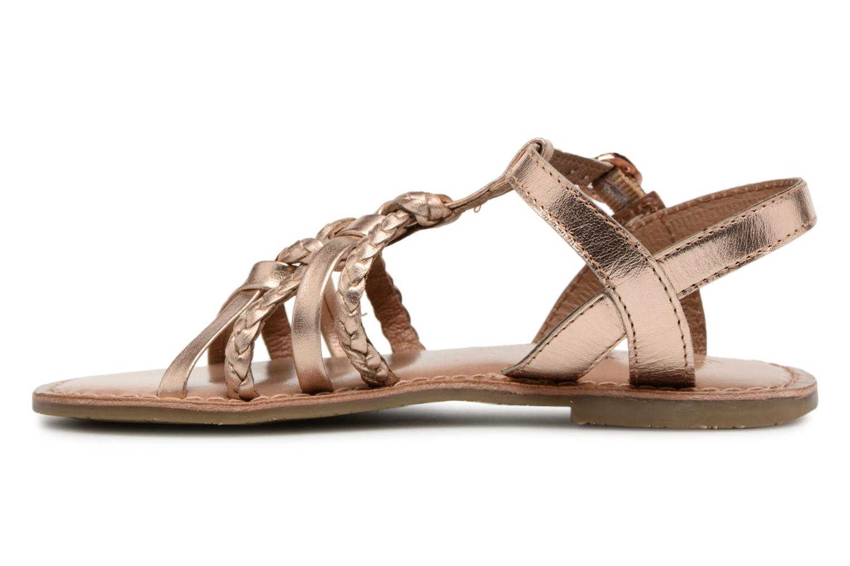 Sandaler I Love Shoes Keliana Leather Bronze och Guld bild från framsidan