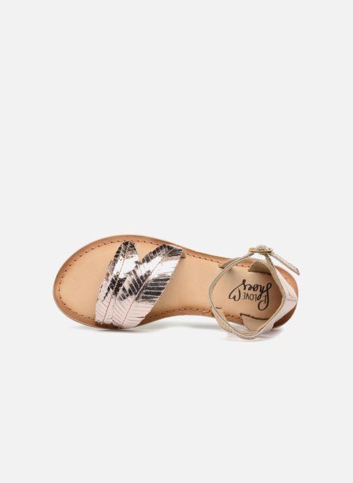 Sandales et nu-pieds I Love Shoes Kefeuille Leather Or et bronze vue gauche