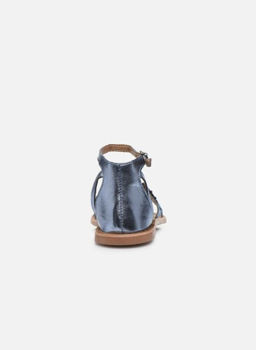 Sandalias I Love Shoes Kefeuille Leather Azul vista lateral derecha