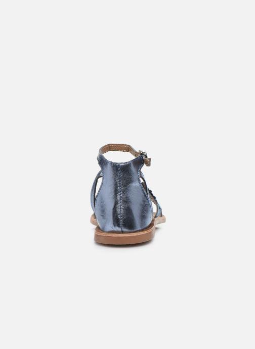 Sandali e scarpe aperte I Love Shoes Kefeuille Leather Azzurro immagine destra