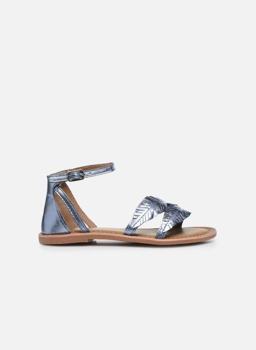 Sandali e scarpe aperte I Love Shoes Kefeuille Leather Azzurro immagine posteriore