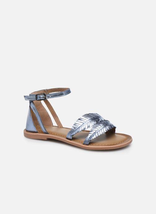 Sandali e scarpe aperte I Love Shoes Kefeuille Leather Azzurro vedi dettaglio/paio