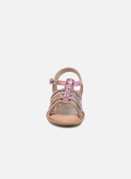 Sandales et nu-pieds I Love Shoes KEMALT LEATHER Multicolore vue portées chaussures