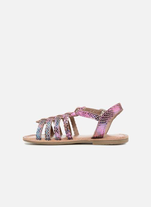 Sandales et nu-pieds I Love Shoes KEMALT LEATHER Multicolore vue face