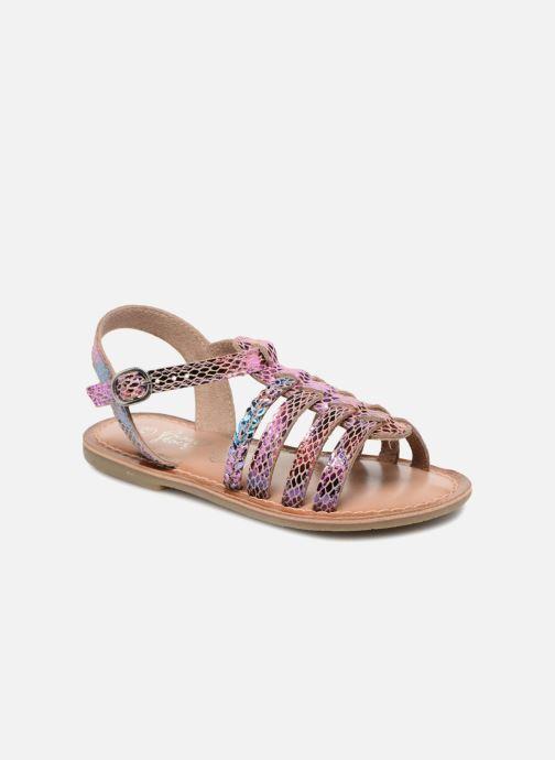 Sandales et nu-pieds I Love Shoes KEMALT LEATHER Multicolore vue détail/paire