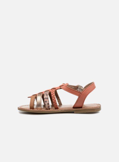 Sandales et nu-pieds I Love Shoes KEMALT LEATHER Orange vue face