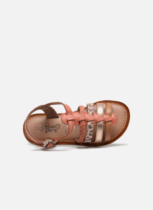 Sandales et nu-pieds I Love Shoes KEMALT LEATHER Orange vue gauche