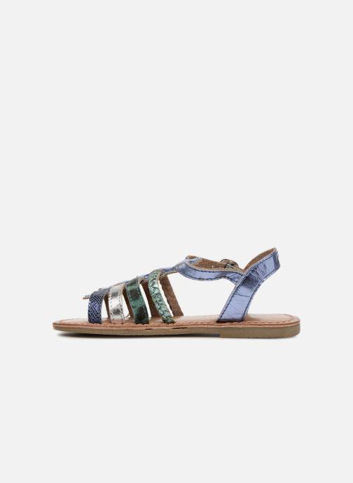 Sandali e scarpe aperte I Love Shoes KEMALT LEATHER Azzurro immagine frontale