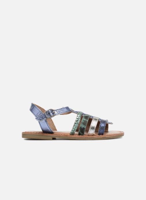Sandaler I Love Shoes KEMALT LEATHER Blå se bagfra