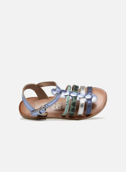 Sandals I Love Shoes KEMALT LEATHER Blue view from the left