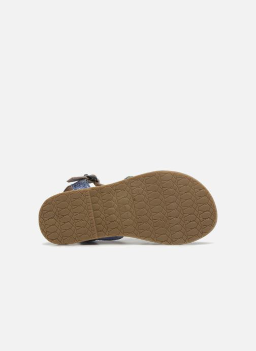 Sandals I Love Shoes KEMALT LEATHER Blue view from above