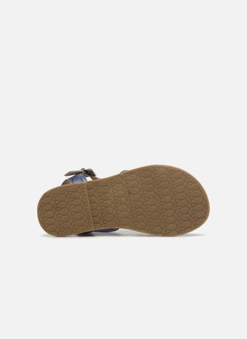 Sandalias I Love Shoes KEMALT LEATHER Azul vista de arriba