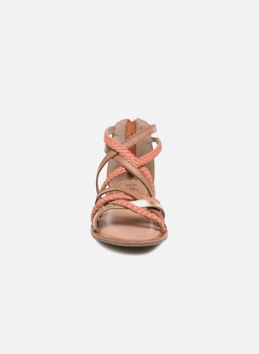 Sandales et nu-pieds I Love Shoes Kepola Leather Orange vue portées chaussures