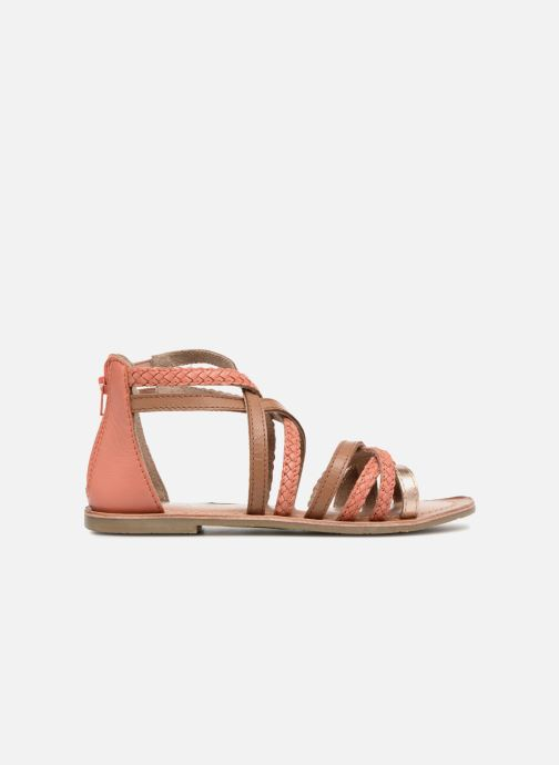 Sandales et nu-pieds I Love Shoes Kepola Leather Orange vue derrière
