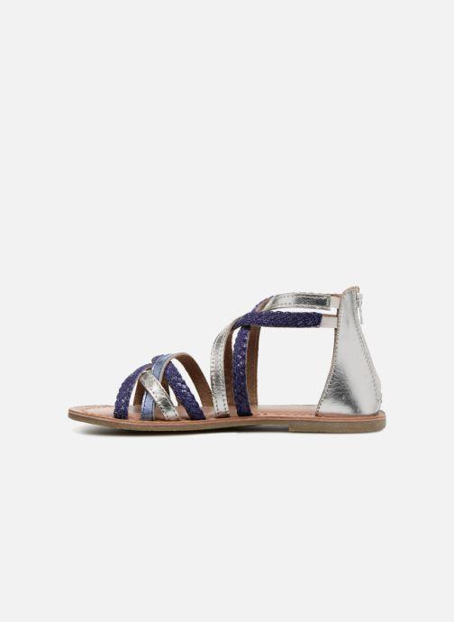 Sandales et nu-pieds I Love Shoes Kepola Leather Bleu vue face