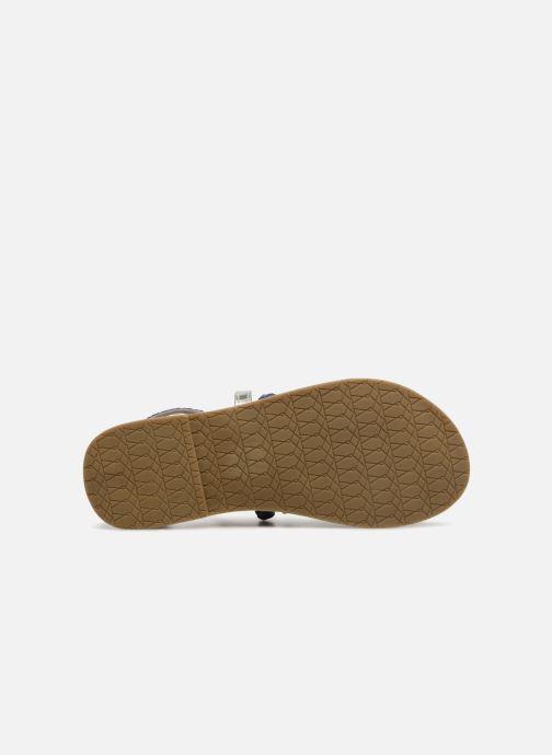 Sandales et nu-pieds I Love Shoes Kepola Leather Bleu vue haut