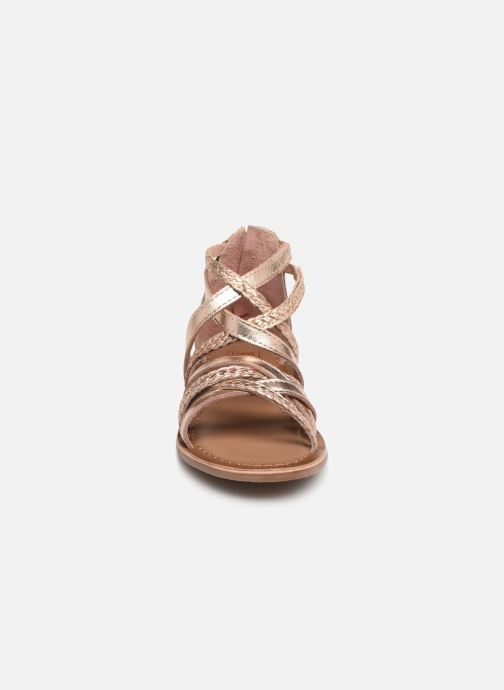 Sandaler I Love Shoes Kepola Leather Guld og bronze se skoene på