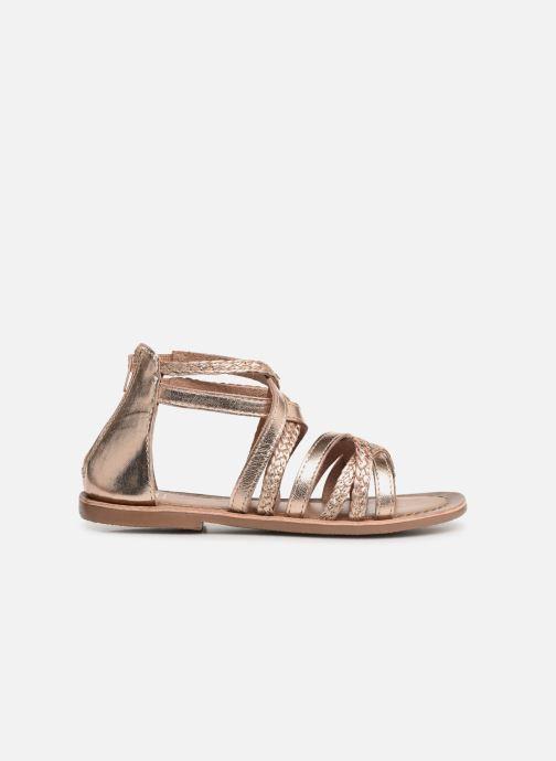 Sandales et nu-pieds I Love Shoes Kepola Leather Or et bronze vue derrière