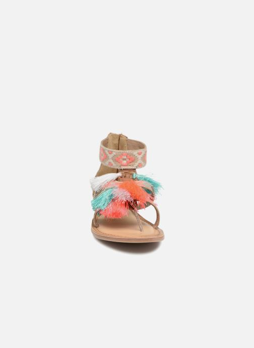Sandales et nu-pieds I Love Shoes Kebam Leather Kids Multicolore vue portées chaussures