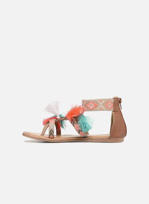 Sandals I Love Shoes Kebam Leather Kids Multicolor front view