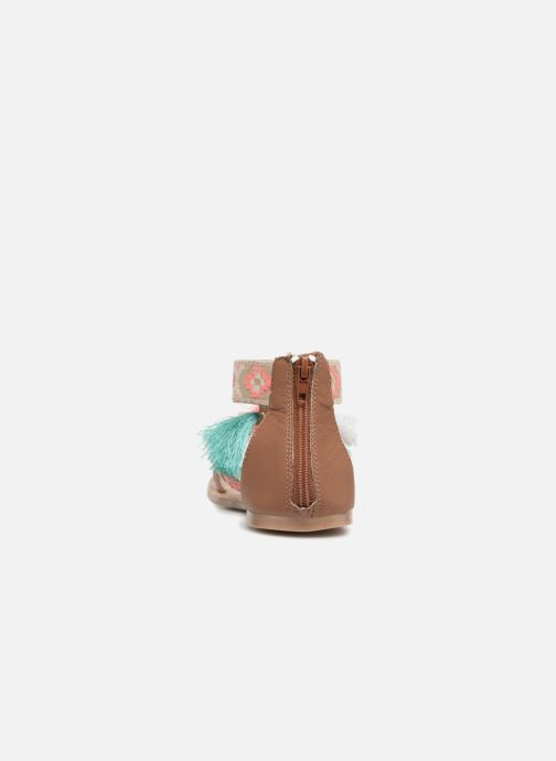 Sandales et nu-pieds I Love Shoes Kebam Leather Kids Multicolore vue droite
