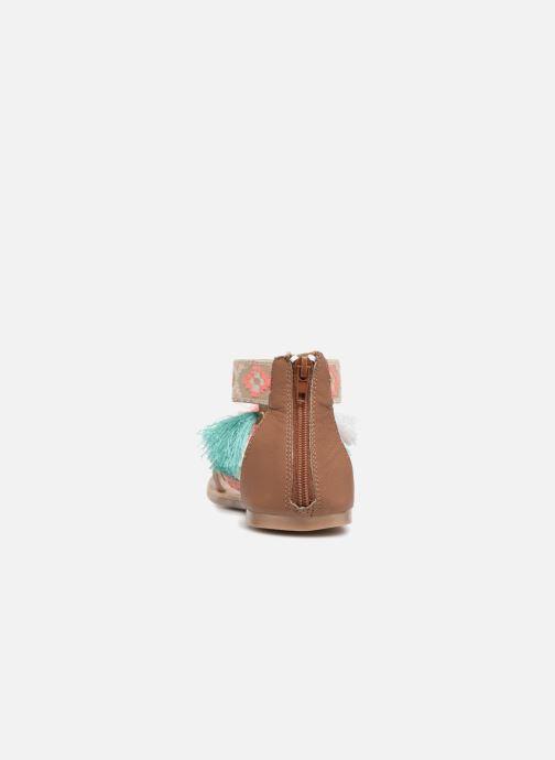 Sandales et nu-pieds I Love Shoes Kebam Leather Kids Multicolore vue droite