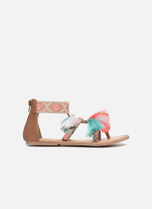 Sandals I Love Shoes Kebam Leather Kids Multicolor back view