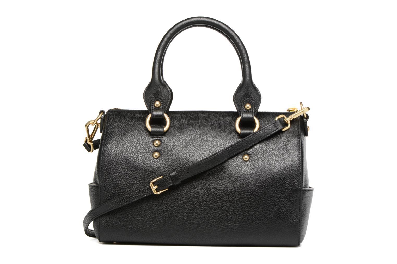 Handtassen Guess Bonnie Box satchel Zwart voorkant