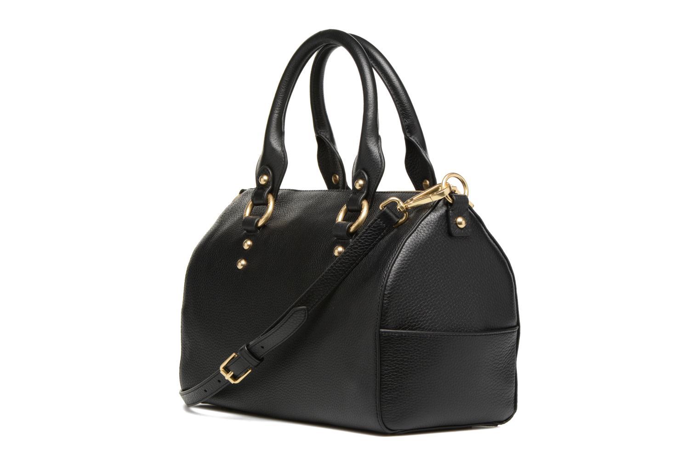 Handtassen Guess Bonnie Box satchel Zwart rechts