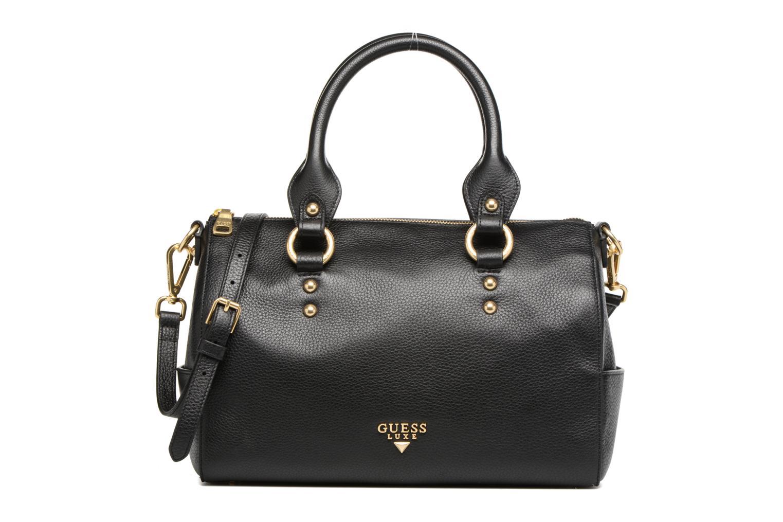 Handtassen Guess Bonnie Box satchel Zwart detail