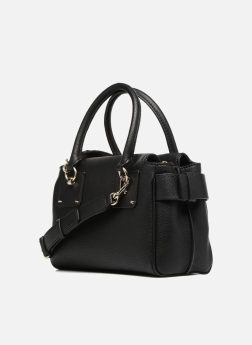 Sacs à main Guess Luma Small Girlfriend Satchel Noir vue droite