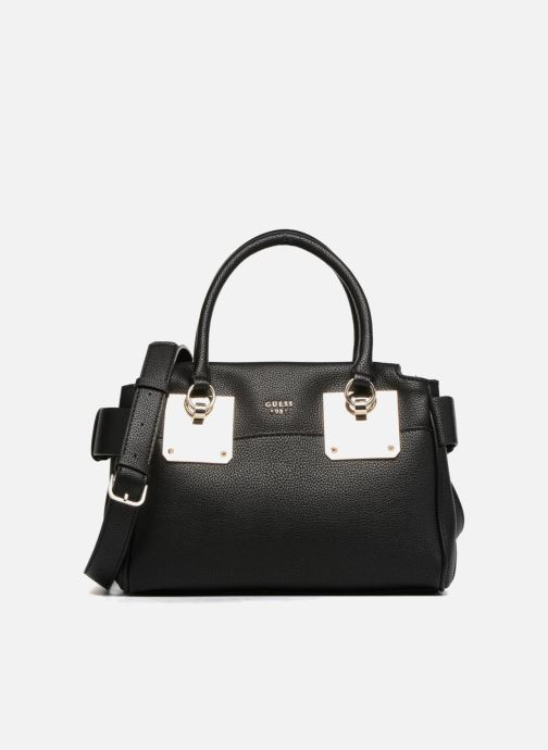 Sacs à main Guess Luma Small Girlfriend Satchel Noir vue détail/paire