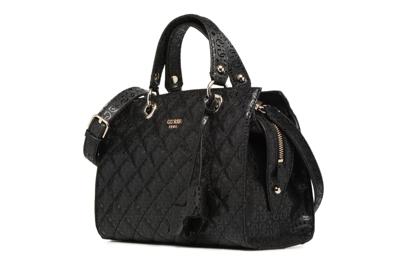 Handtassen Guess Seraphina Satchel Zwart model