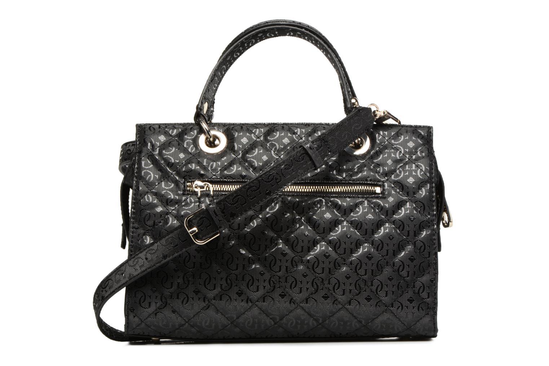 Handtassen Guess Seraphina Satchel Zwart voorkant
