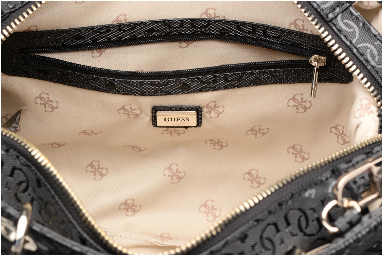Handtassen Guess Seraphina Satchel Zwart achterkant