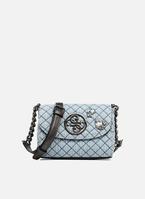 Guess G Lux Mini Crossbody Flap (Blauw) Handtassen chez