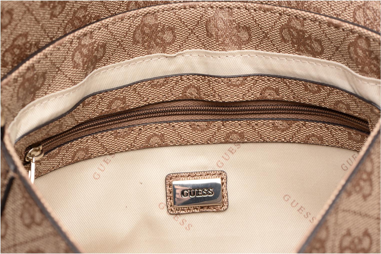 Borse Guess Joleen Crossbody Flap Marrone immagine posteriore