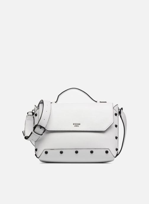 34de094546 Guess Kaia Top Handle Flap (White) - Handbags chez Sarenza (312694)