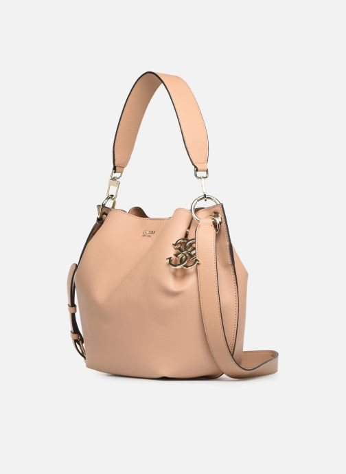 Handbags Guess Digital Hobo Beige model view