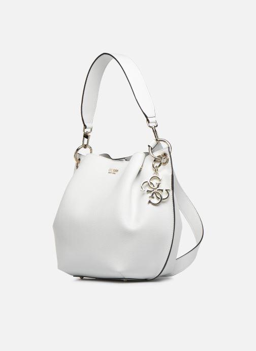 Handbags Guess Digital Hobo White model view