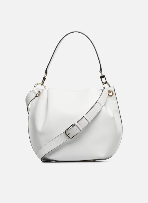 Handbags Guess Digital Hobo White front view