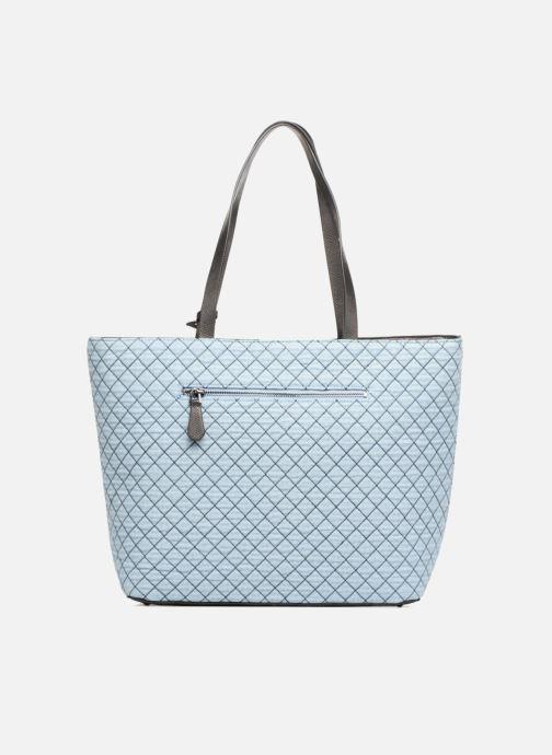 d93c871743fc Guess G Lux Large Tote Zippé (Blue) - Handbags chez Sarenza (312707)