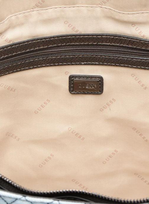 Borse Guess G Lux Large Tote Zippé Azzurro immagine posteriore
