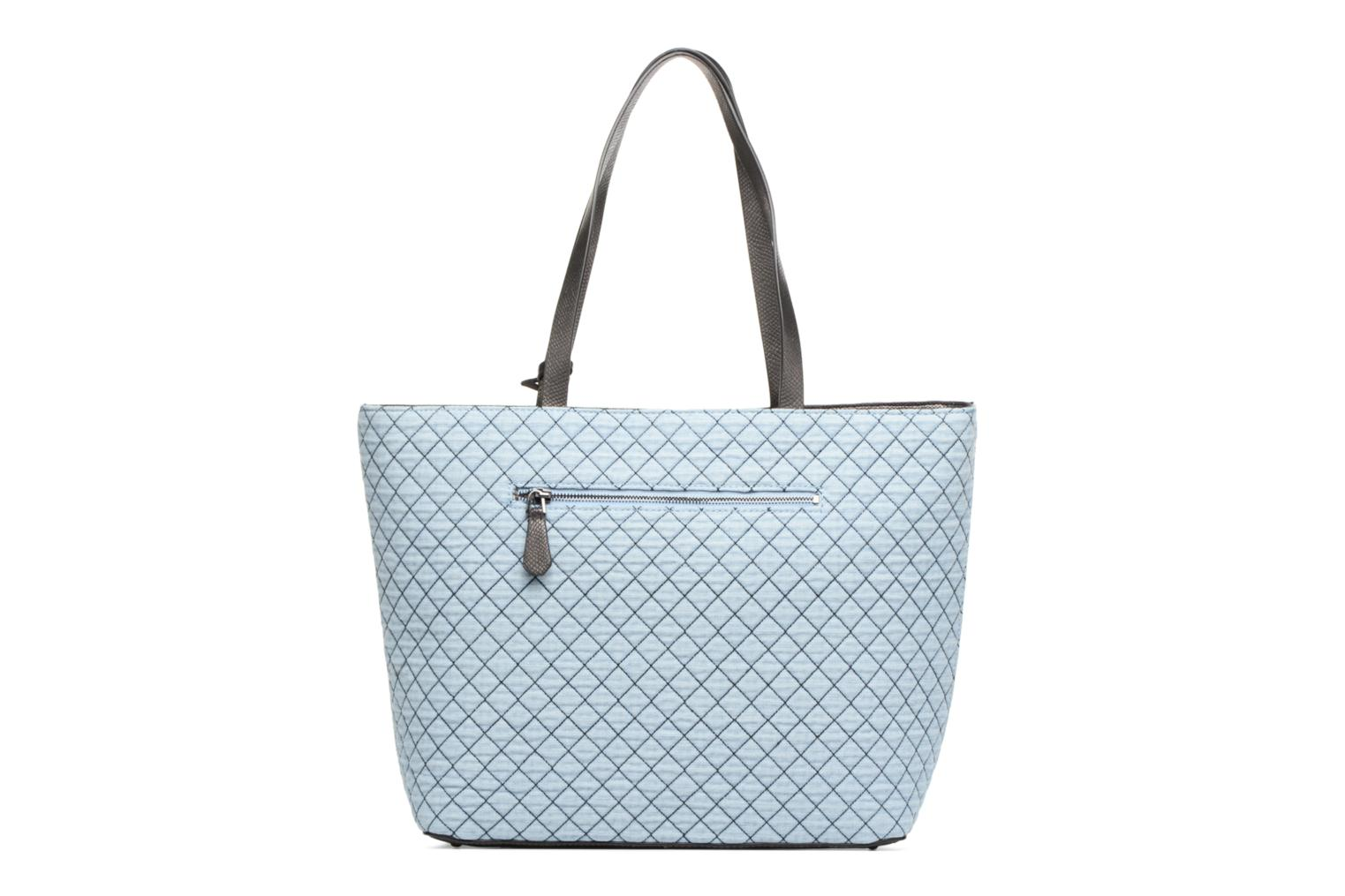 Guess Lux Tote G Denim Large Zippé f7rfvq